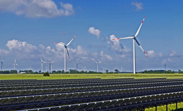 Solarpark Windpark