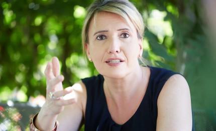 Grüne Bundesvorsitzende Simone Peter